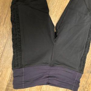 lululemon athletica Pants - Lululemon run ankle pant 6, black and purple